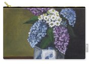 Blue Fish Vase Carry-all Pouch