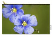 Blue Flax #2 Carry-all Pouch
