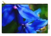 Blue Flower 10-30-09 Carry-all Pouch