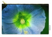 Blue Flower In Morning Sun Carry-all Pouch