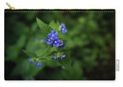 Blue Flower In Spring Carry-all Pouch