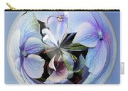 Blue Flower Orb Carry-all Pouch