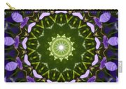 Blue Flowers Kaleidoscope Carry-all Pouch