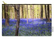 Blue Forest In Shadow Carry-all Pouch