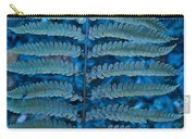 Blue Frond Carry-all Pouch