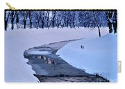 Blue Frozen River Carry-all Pouch
