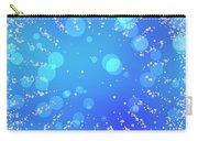Blue Frozen Window Carry-all Pouch