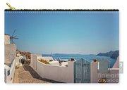 Blue Gate Santorini Carry-all Pouch