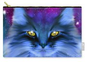 Blue Ghost Cat Carry-all Pouch