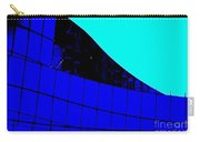 Blue Glass Abstract Carry-all Pouch