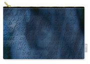 Blue Glimpse Carry-all Pouch