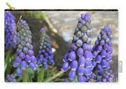 Blue Grape Hyacinths Carry-all Pouch