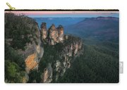 Blue Haze At Sunrise At Ecco Point In Blue Mountains Carry-all Pouch