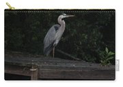 Blue Heron At Dusk Carry-all Pouch
