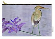 Blue Heron Colorized Carry-all Pouch