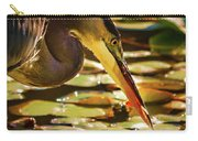 Blue Heron Fishing 1 Carry-all Pouch