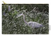 Blue Heron In Grass 4566 Carry-all Pouch