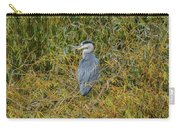 Blue Heron In The Autumn Colours Carry-all Pouch