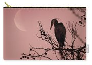 The Heron And The Moon Carry-all Pouch