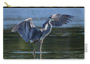 Blue Heron Show-off Carry-all Pouch