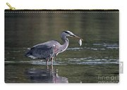 Blue Heron Snack Carry-all Pouch