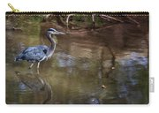 Blue Heron Stalking  Carry-all Pouch