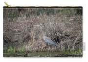 Blue Heron Stalking Dinner Carry-all Pouch