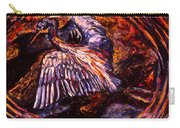 Blue Heron Swirl Carry-all Pouch