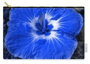 Blue Hibiscus Carry-all Pouch