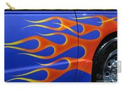 Blue Hot Rod Closeup Carry-all Pouch