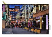Blue Hour At East Fourth Carry-all Pouch