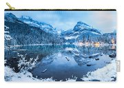Blue Hour At Lake O'hara Carry-all Pouch