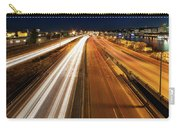 Blue Hour Freeway Light Trails Carry-all Pouch