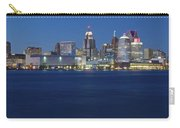 Blue Hour In Detroit Carry-all Pouch