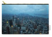 Blue Hour In New York Carry-all Pouch