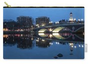 Blue Hour On The Charles Carry-all Pouch