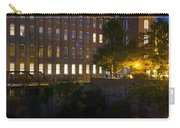Blue Hour Over The Cocheco Mills Dover New Hampshire Carry-all Pouch