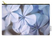 Blue Houres, Blue Flowers Carry-all Pouch
