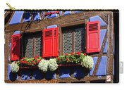 Blue House # I Carry-all Pouch