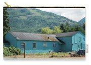 Blue House In Hamilton Carry-all Pouch