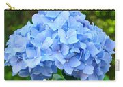 Blue Hydrangea Floral Art Print Hydrangeas Flowers Baslee Troutman Carry-all Pouch