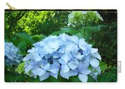 Blue Hydrangea Floral Art Prints Baslee Troutman Carry-all Pouch