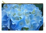 Blue Hydrangea Floral Flowers Art Prints Baslee Troutman Carry-all Pouch