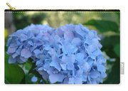 Blue Hydrangea Flower Art Prints Baslee Troutman Carry-all Pouch