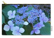 Blue Hydrangea Flowers Floral Art Baslee Troutman Carry-all Pouch