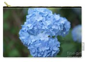 Blue Hydrangea Petals Carry-all Pouch