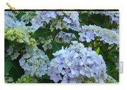 Blue Hydrangeas Art Prints Hydrangea Flowers Giclee Baslee Troutman Carry-all Pouch