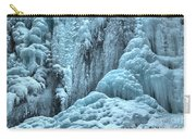 Blue Ice Flows At Tangle Falls Carry-all Pouch