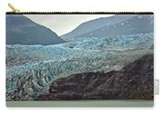 Blue Ice In Fog Carry-all Pouch