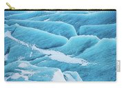 Blue Ice Svinafellsjokull Glacier Iceland Carry-all Pouch